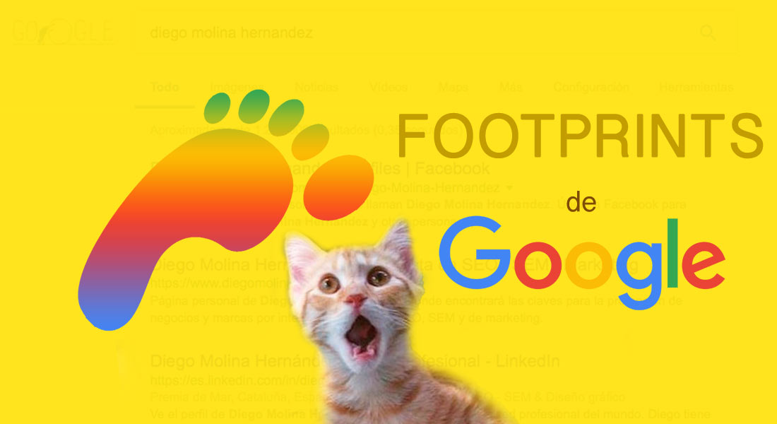Footprints de Google para SEO y Marketing